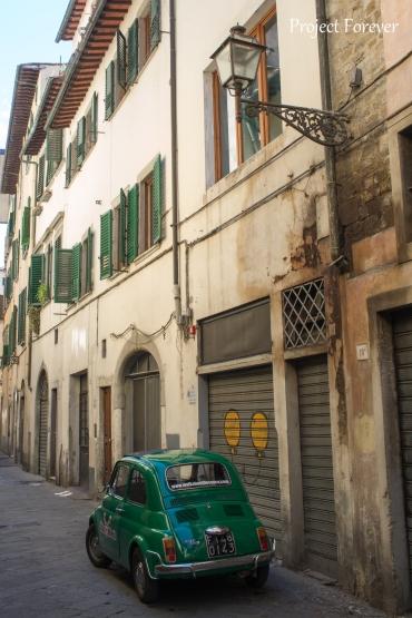 Firenzen katuja