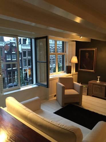 Koti Amsterdamissa. Kuva Airbnb